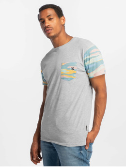 Just Rhyse Tequesta T-Shirt Grey Melange/Colored