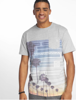 Just Rhyse t-shirt Key West grijs