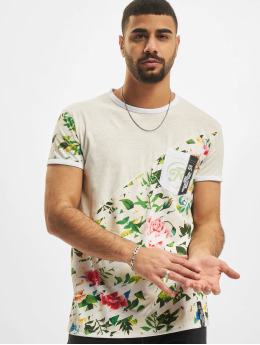Just Rhyse T-Shirt Flower gris