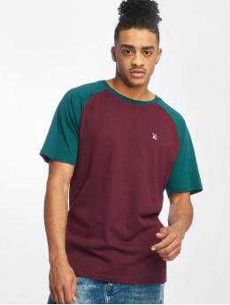 Just Rhyse Monchique T-Shirt Burgundy/Petrol