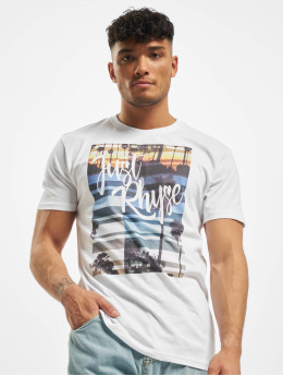 Just Rhyse T-Shirt Casares weiß