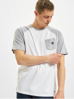 Just Rhyse T-Shirt Albertina Raglan T-Shirt white