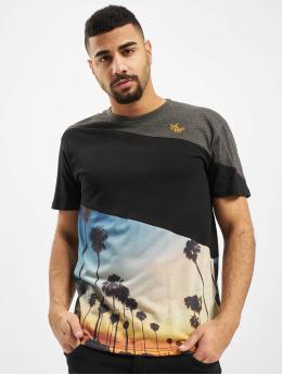 Just Rhyse t-shirt Monte Ruivo zwart