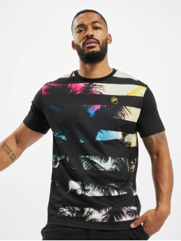 Just Rhyse T-Shirty Beach II czarny
