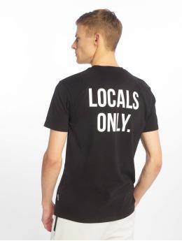 Just Rhyse T-skjorter Beverly Hills svart