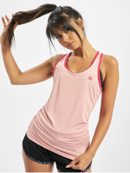 Just Rhyse Tank Tops Tawanui Active  rose