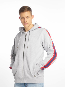 Just Rhyse Zip Hoodie Brooksville grey