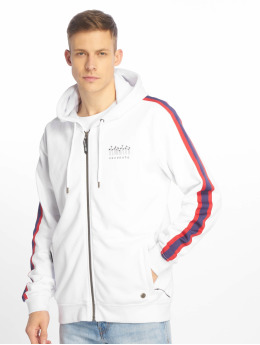 Just Rhyse Zip Hoodie Brooksville white