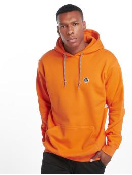 K1X Bluzy z kapturem Color pomaranczowy