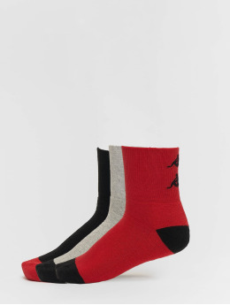 Kappa Ponožky Etimo Quarter 3er Pack červený