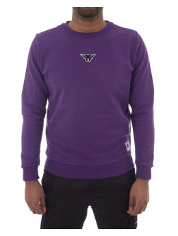 Kappa Pullover Crew Jumper violet