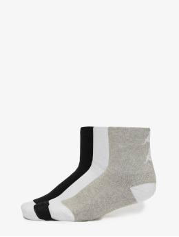Kappa Sokker Etimo Quarter 3er Pack grå