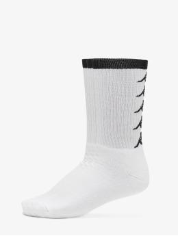 Kappa Sokker EVAN Quarter 3-Pack hvit