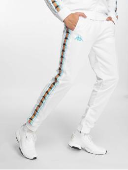 Kappa Spodnie do joggingu Valton bialy
