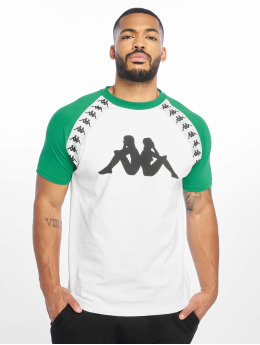 Kappa T-shirt 222 Banda Bardi bianco