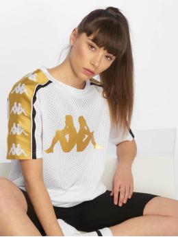 Kappa t-shirt 222 Banda Balby wit
