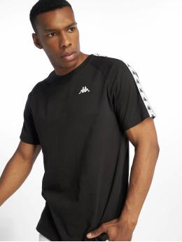 Kappa t-shirt Ernesto zwart