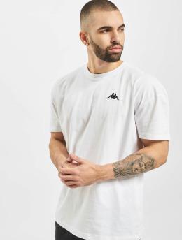 Kappa T-skjorter Franklyn  hvit