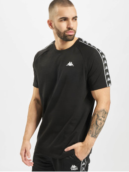 Kappa T-skjorter Finley svart