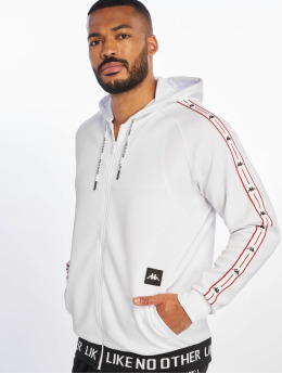Kappa Zip Hoodie Authentic Jpn Basev hvit