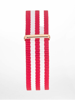 Kapten & Son Armbånd Nylon Strap red