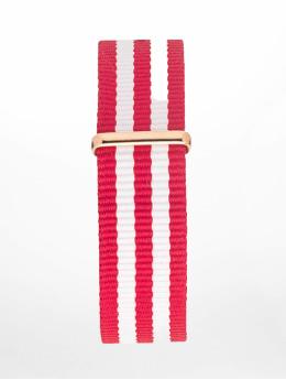 Kapten & Son Bransolety Nylon Strap czerwony
