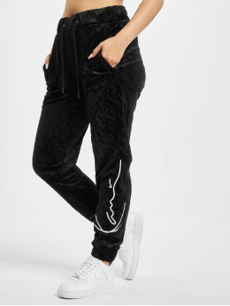 Karl Kani Спортивные брюки Kk Signature Velvet черный