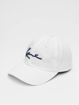 Karl Kani Casquette Snapback & Strapback  Signature Cap blanc