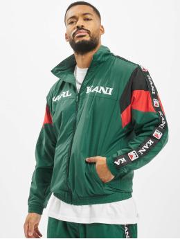 Karl Kani Chaqueta de entretiempo Retro verde