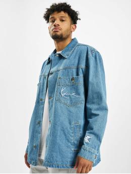 Karl Kani Denim Jacket Denim Shirt blue