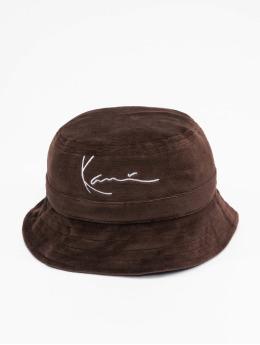 Karl Kani Hatte Signature Velvet brun