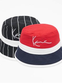 Karl Kani hoed Signature Reversible Block  zwart