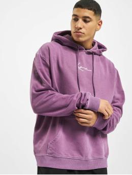 Karl Kani Hoodie Kk Small Signature Washed purple