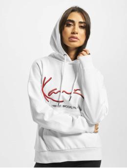 Karl Kani Hoodies Signature  bílý