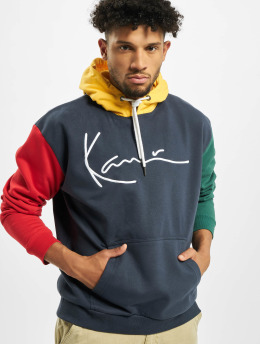 Karl Kani Hoodies Signature Block blå