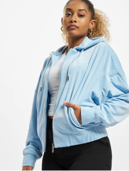Karl Kani Hoodies con zip Chest Signature blu