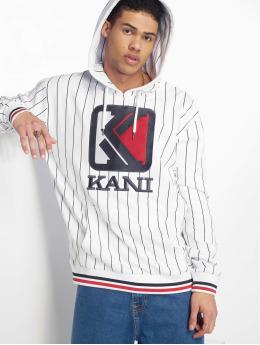 Karl Kani Hoody Og Pinstripe wit