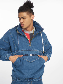 Karl Kani Jeansjacken Og Denim blau