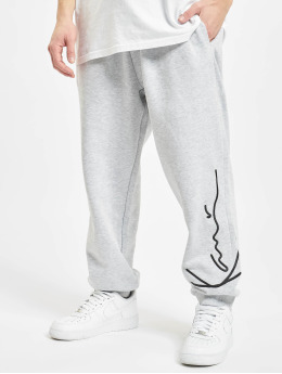 Karl Kani Jogginghose Signature Retro grau