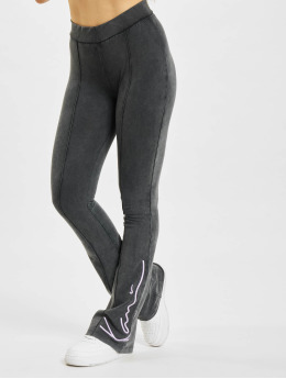 Karl Kani Legging Signature Washed Flared schwarz