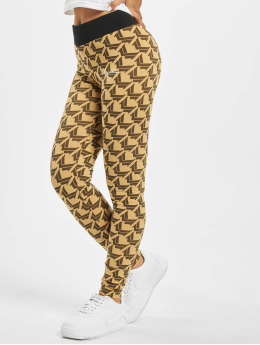Karl Kani Leggings/Treggings Signature  beige