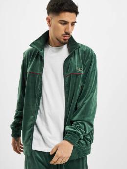 Karl Kani Lightweight Jacket Kk Small Signature Velvet green