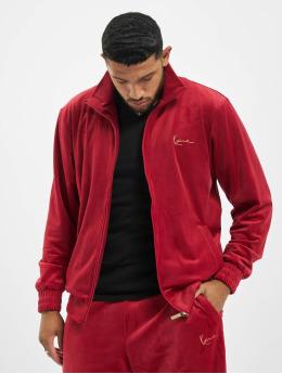 Karl Kani Lightweight Jacket Kk Signature Velvet red