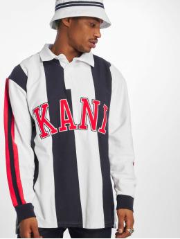 Karl Kani Longsleeve College Rugby  wit