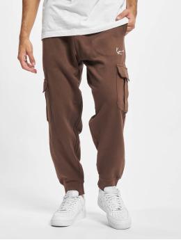Karl Kani Pantalon cargo Small Signature brun