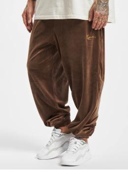 Karl Kani Pantalón deportivo Small Signature marrón
