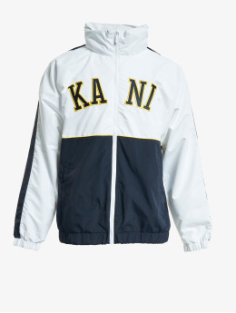 Karl Kani Prechodné vetrovky Kk College Block Windrunner biela