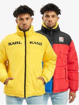 Karl Kani Puffer Jacket Retro Reversible blue