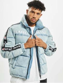 Karl Kani Puffer Jacket Retro blue
