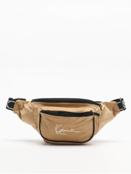 Karl Kani Sac Signature Cord Tape brun